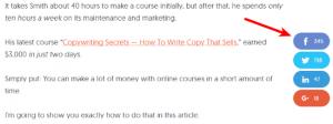 Agregue un botón como Facebook a su blog o sitio web