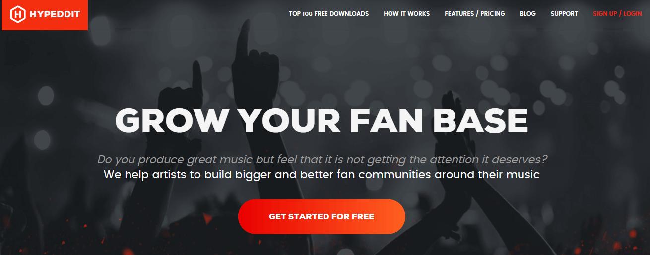 Usa Hypeddit para conseguir más reproducciones y seguidores de SoundCloud
